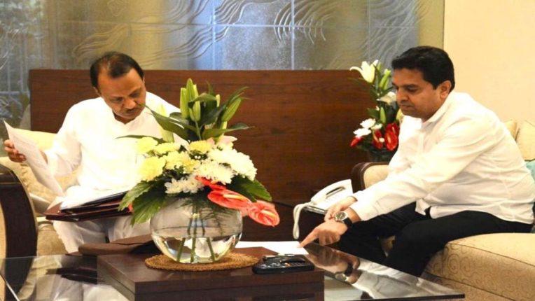 मीरा- भायंदर की प्यास बुझाने नेता एक्टिव, उप मुख्यमंत्री से मिले डॉ. शेख