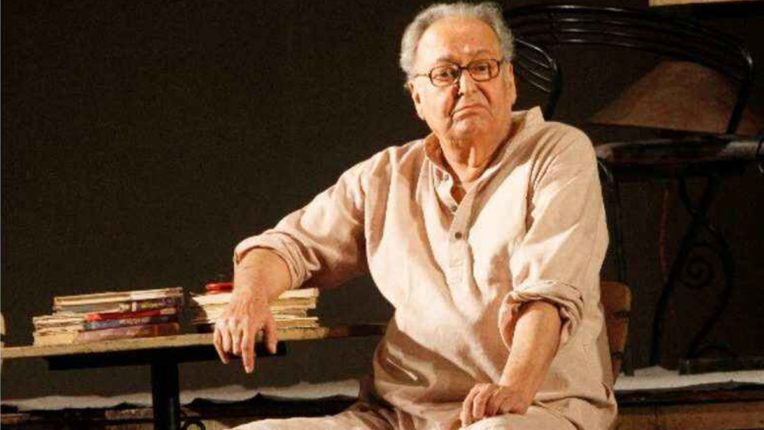 Improvement in health of Soumitra Chatterjee