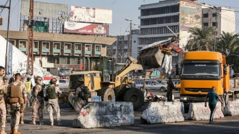Iraq evacuates Tahrir Chowk, a center of protests in Baghdad for a year