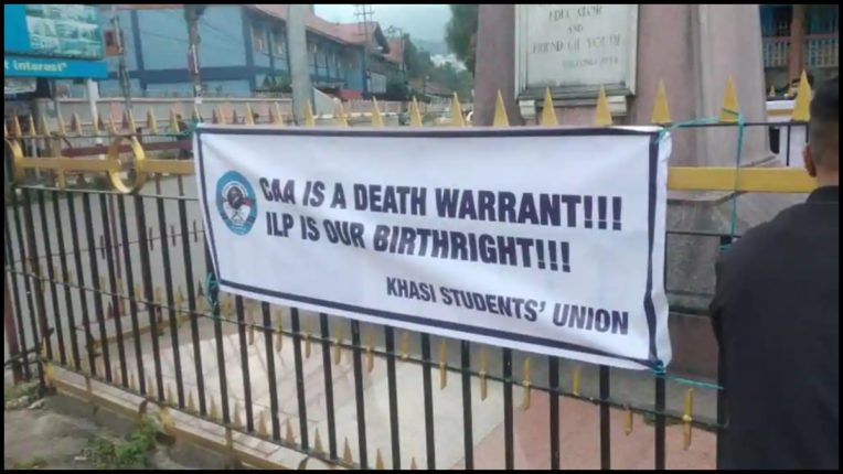 KSU calls Meghalaya Bengalis Bangladeshi, put up banners, police removed