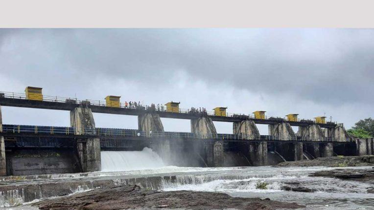 खडकवासला जलाशय में मूसलाधार बारिश जारी, 0.50 टीएमसी की वृद्धि