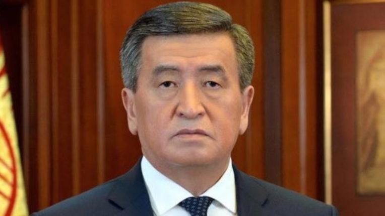 Kyrgyzstan President Sooronbay Jeenbekov resigned