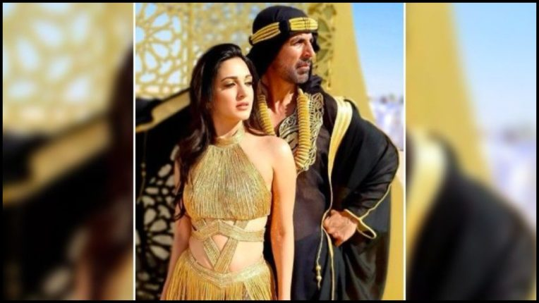 Lakshmi Bomb's Song Burj Khalifa Release, Akshay and Kiara Seen in This Style
