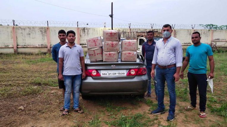 Liquor Seized in Chandrapur