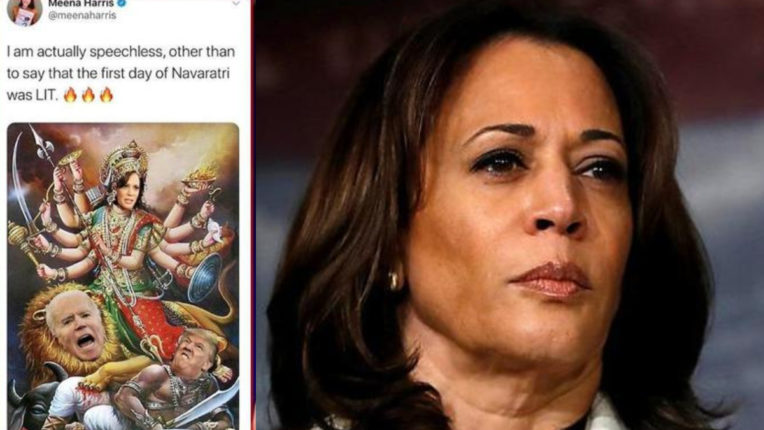 Hindu group seeks apology from Harris's niece for tweet portraying aunt as' Durga '