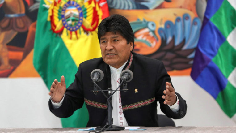 Morales's allies claim victory in Bolivia's general election