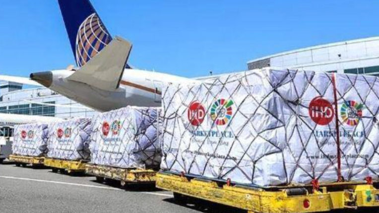India donated 1.8 million N95 masks to the city of Philadelphia in America