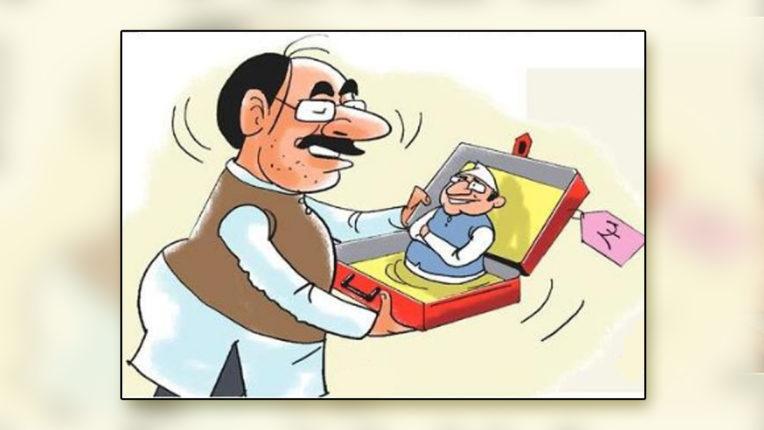 उपचुनावों में गुजरात के विधायकों की खरीद-फरोख्त के आरोप