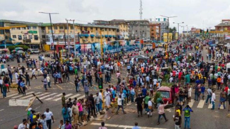 Unrest in Nigeria during demonstrations, 51 civilians and 18 security personnel killed