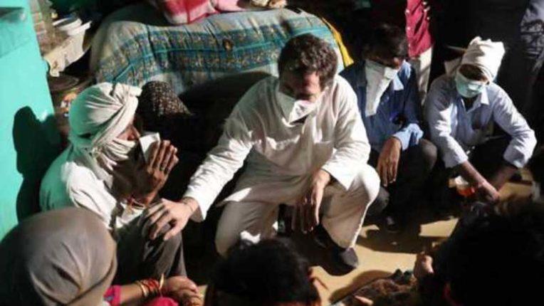 हाथरस के पीड़ित परिवार से मुलाकात का वीडियो साझा कर बोले राहुल: अन्याय की सच्चाई जानना जरूरी