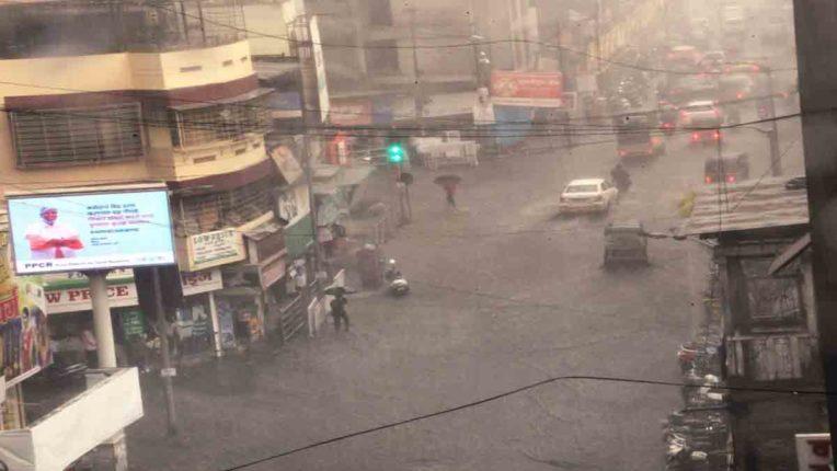 जिले में शनिवार तक अतिवृष्टि, मौसम विभाग की चेतावनी