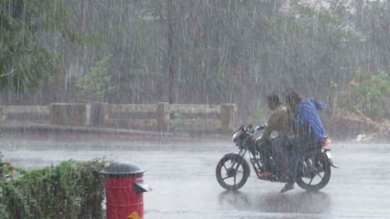 Rain in Chandrapur