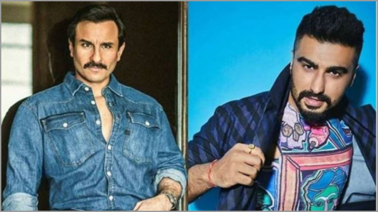 Saif and Arjun to come together for shooting for 'Bhoot Police' next month