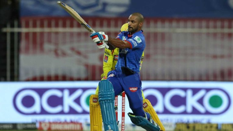 धवन की शतकीय पारी से दिल्ली ने चेन्नई को हराया