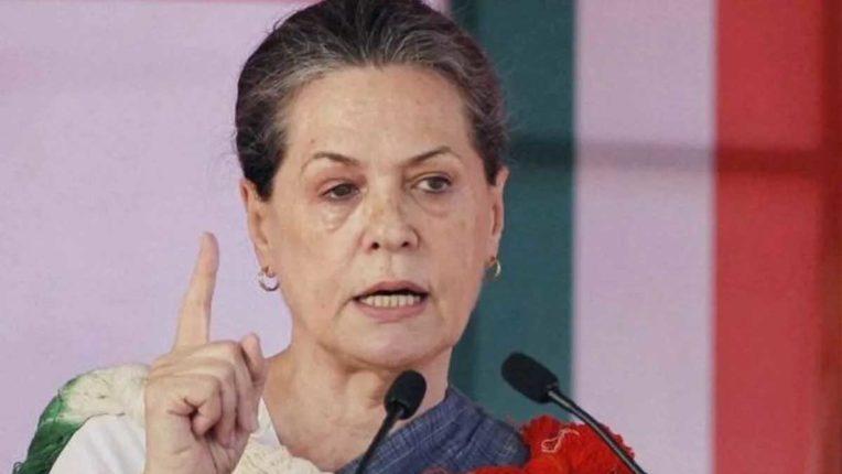 Sonia Gandhi, PTI