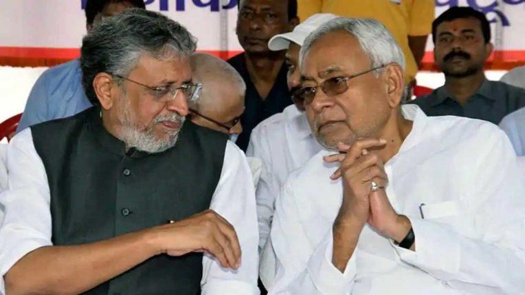 Sushil Modi and Nitish Kumar