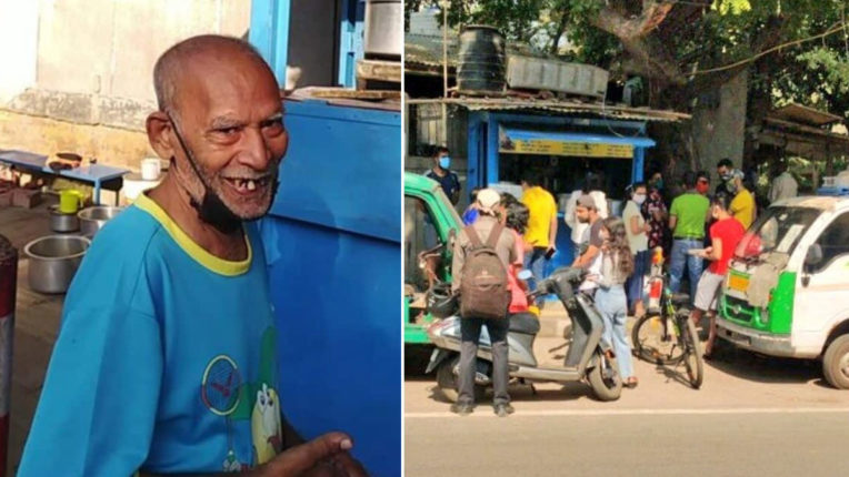 The impact of social media in difficult times: Baba ka Dhaba owner's smile
