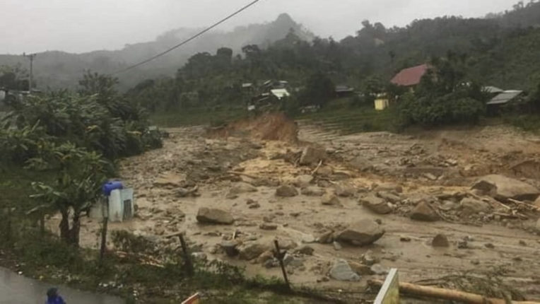 Typhoon Molave leads to lanslides in Vietnam, 35 killed, dozens missing