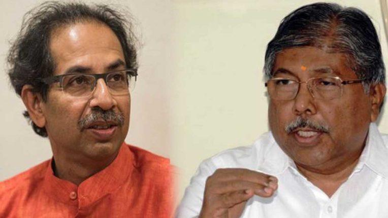 Uddhav and Chandrakant Patil