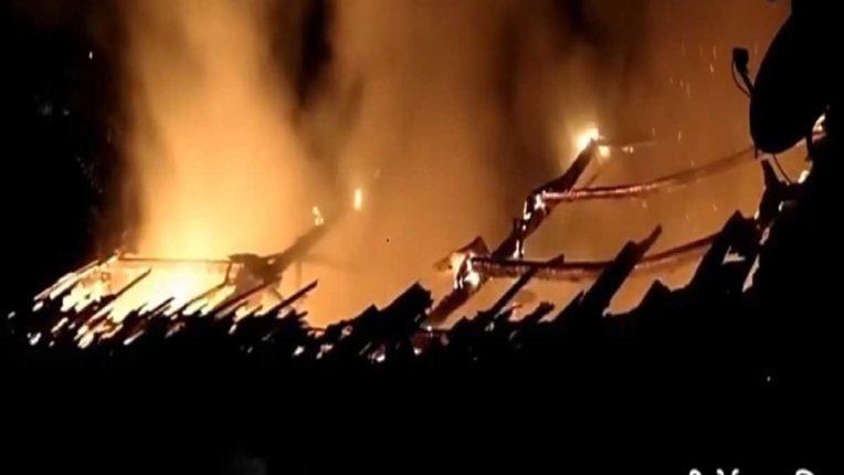 बंद कारखाने में लगी भीषण आग, कोई जनहानि नहीं