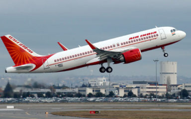 Air India aircraft returned after takeoff from Delhi to Newark, bat found in flight