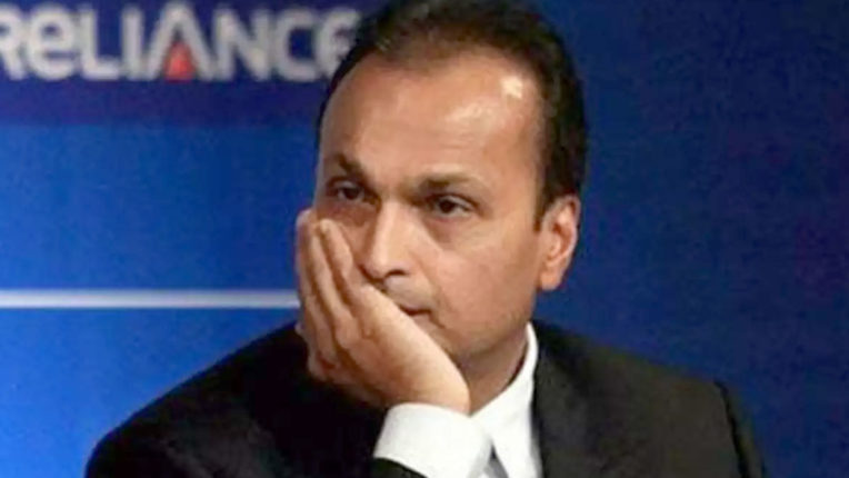 anil Ambani's company out of the Navy in defense