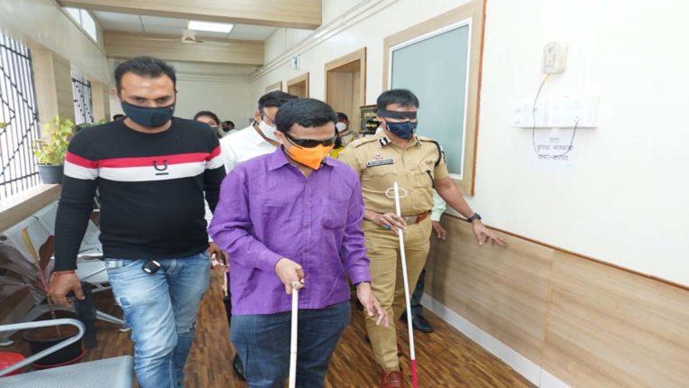 गृहमंत्री ने की पुलिस कमिश्नर की सराहना
