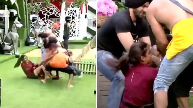 bigg-boss-14-jasmin-bhasin-fight-with-eijaz-khan-in-immunity-task