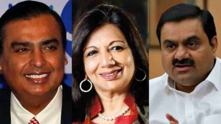 फोर्ब्स इंडिया लिस्ट: मुकेश अंबानी फिर अव्वल, 9 नए चेहरे भी शामिल