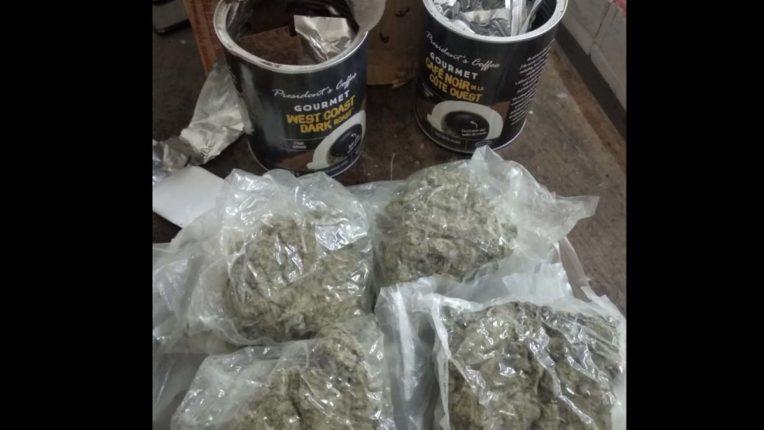 NCB ने पकड़ा 55 लाख का गांजा का पार्सल, 2 गिरफ्तार
