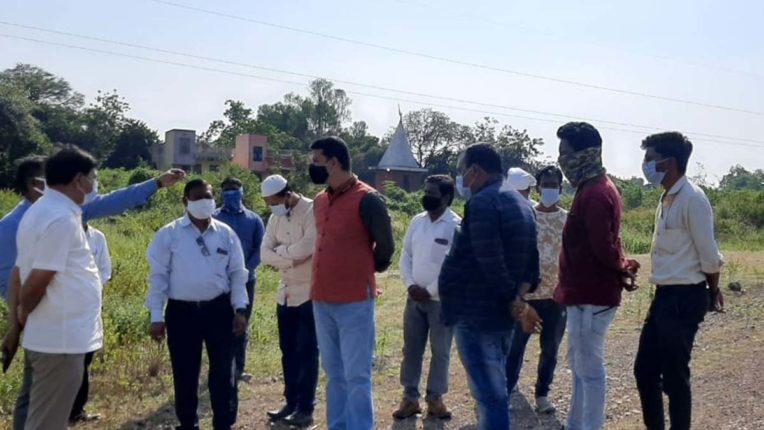 कचरा प्रक्रिया केन्द्र के काम में बाधा डालनेवालों पर हुई कार्रवाई