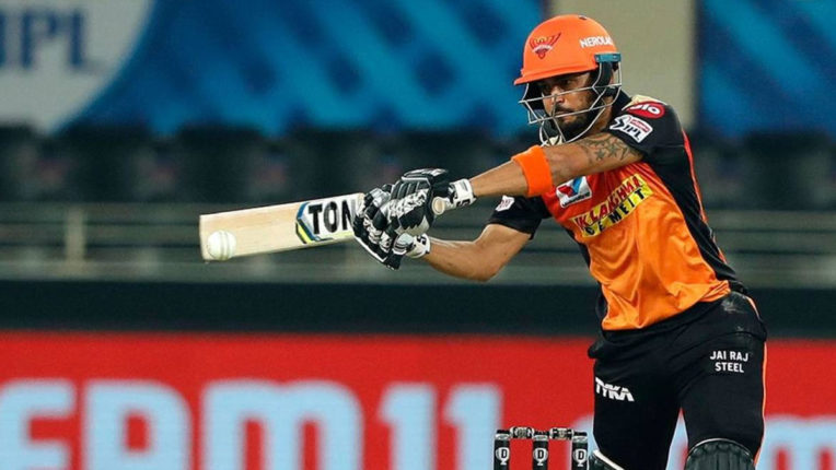 ipl 2020 manish-pandey-happy-contribute-srh-middle-order
