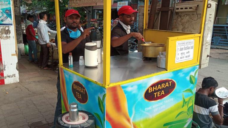 पढाई एमबीए, बेच रहा चाय