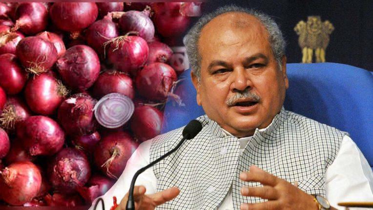 प्याज की कीमतें थामने को एक लाख टन का बफर स्टॉक जारी कर रही सरकार : कृषि मंत्री