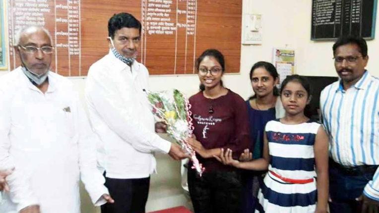 नीट परीक्षा में प्राची की सफलता, ओबीसी प्रवर्ग में देश से 32 वां स्थान