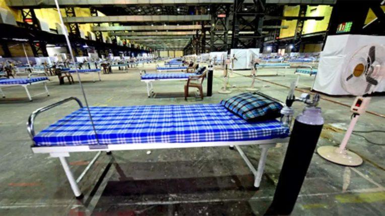 जंबो कोविड केअर में घट रही कोरोना मरीजों की संख्या, 40 % बेड्स खाली