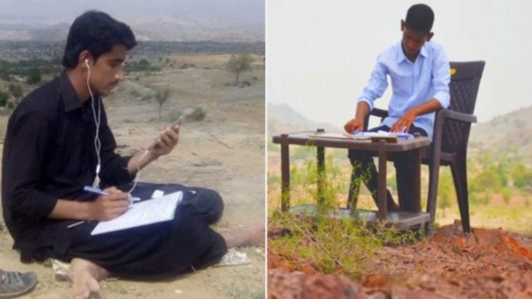 गोवा में ऑनलाइन क्लासेस के लिए छात्र रोज 3 KM करते हैं पहाड़ पर चढ़ाई