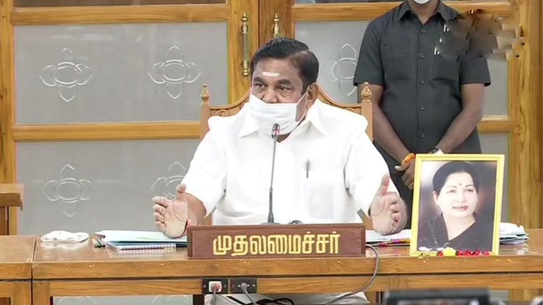 तमिलनाडु के मुख्यमंत्री पलानीस्वामी ने किया ऐलान, राज्य में सभी को कोरोना वैक्सीन मिलेगी फ्री