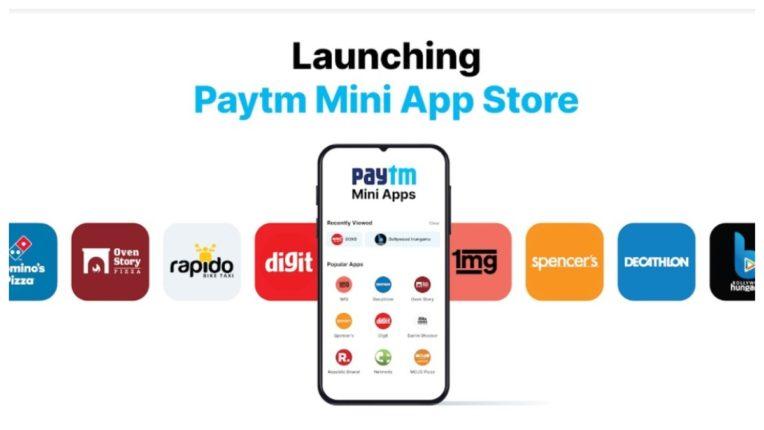 भारत में लॉन्च हुआ Paytm Mini App Store, इंस्टॉल किए बिना चला पाएंगे कई ऐप्स