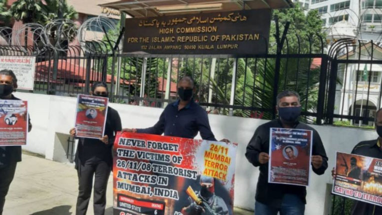 26/11: Indian Americans held protest outside Pakistan embassy, demanded punishment of criminals