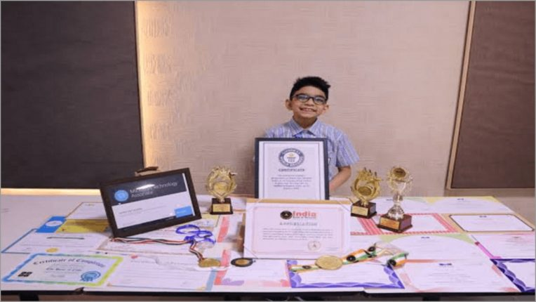 6-year-old Arham created Guinness World Record, became world's youngest computer programmer