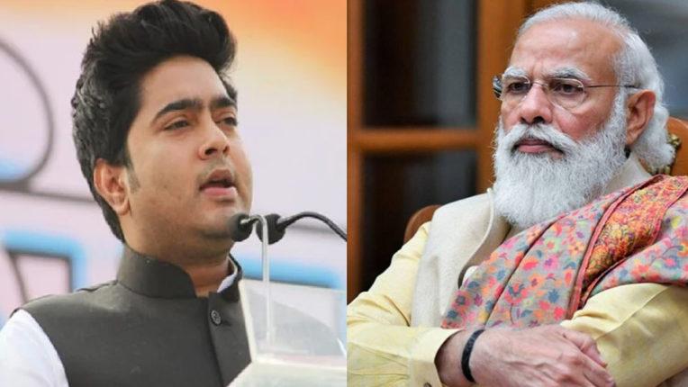 Abhishek Banerjee and Modi