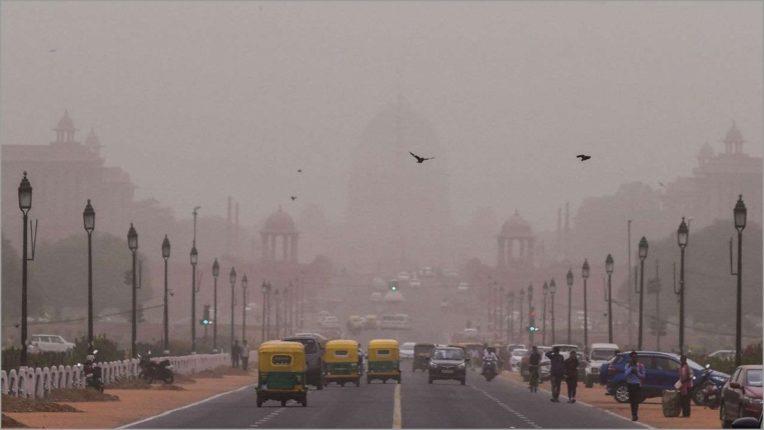 राष्ट्रीय राजधानी में वायु गुणवत्ता 'गंभीर' की श्रेणी में