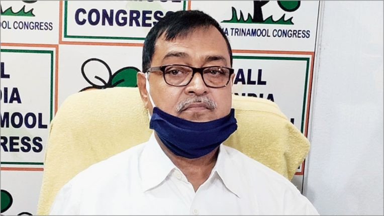 Annoyed Trinamool Congress MLA Mihir Goswami leaves for Delhi with BJP MP
