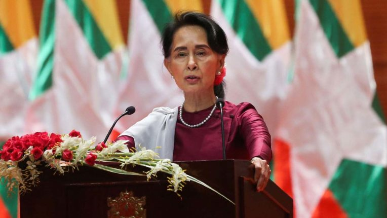 Aung San Suu Kyi's party has absolute majority in Myanmar election results