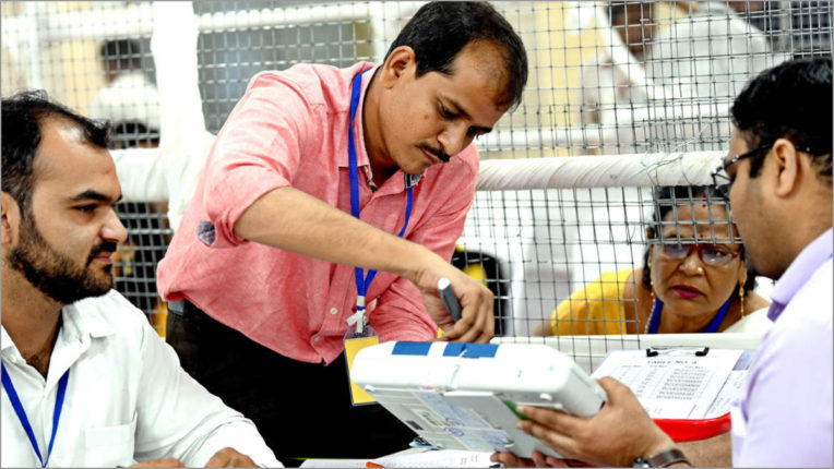 BJP on Bermo and Dumka after three-phase counting