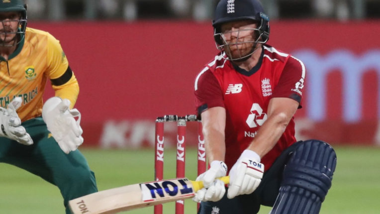Bairstow's brilliant batting led England to victory in the first T20