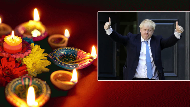ब्रिटेन के प्रधानमंत्री और राजकुमार चार्ल्स ने दिवाली की शुभकामनाएं दी