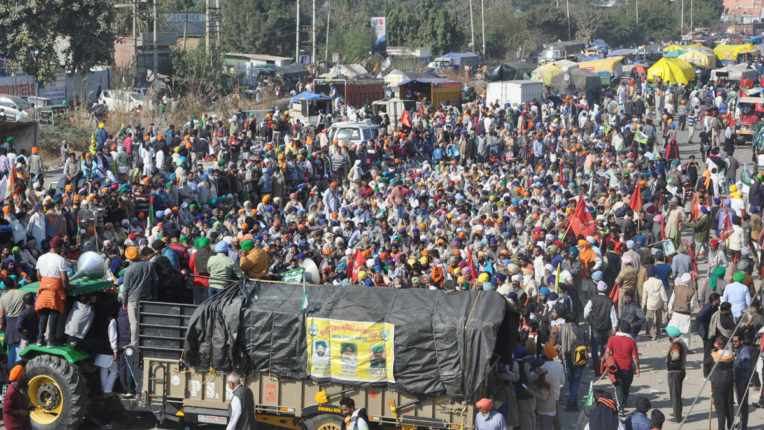 Chalo Delhi March of Farmers