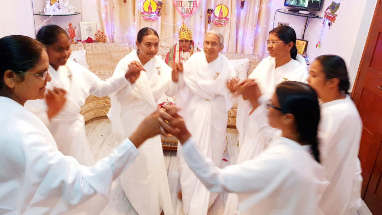 Deepakotsav in Brahma Kumaris Goddess University